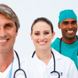 Portrait of smiling medical team — Stock Photo #10282800