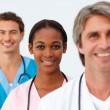 Portrait of nice medical team — Stock Photo #10282810