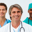 Portrait of cheerful medical team — Stock Photo #10282811