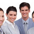 Royalty-Free Stock Photo: Portrait of an international business team