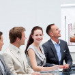 Business in a presentation — Stock Photo