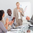 Happy Group of Business — Stock Photo