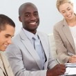 Business Smiling in a meeting — Stock Photo #10287157