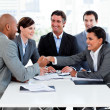 Successful international business shaking hands — Stock Photo #10288972