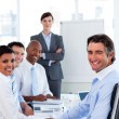Stock Photo: Business group showing ethnic diversity
