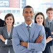 Portrait of a confident business team — Stock Photo