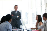 Business having a meeting — Stock Photo