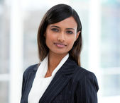 Portrait of a confident businesswoman standing — Stock Photo