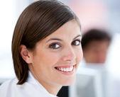 Portrait of a beautiful businesswoman — Stock Photo