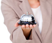 Focus on a service bell — Stock Photo