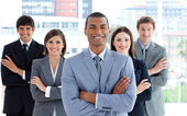 Portrait of a confident business team — Fotografia Stock