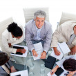 A diverse business group in a meeting — Stock Photo #10290723