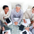 Royalty-Free Stock Photo: Successful business team having a brainstorming