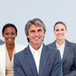 Portrait of an assertive business team — Stock Photo