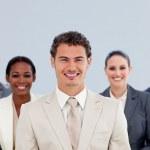 Portrait of a diverse business team — Stock Photo