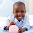 Young boy smiling at the camera — Stock Photo #10293077