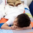 Cute Little boy sleeping — Stock Photo