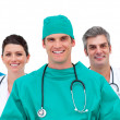 Portrait of a medical team — Stock Photo #10295625