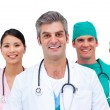 Close-up of a medical team — Stock Photo #10295627