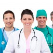 Stock Photo: Confident medical team