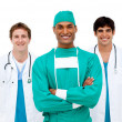 Royalty-Free Stock Photo: Medical team smiling at the camera