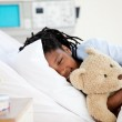 Young Boy in Hospital — Stock Photo