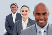 Confident business partners standing — Stock Photo