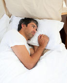 Pensive man after having an argument — Stock Photo