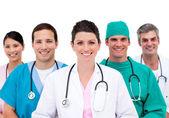 Confident medical team — Stock Photo