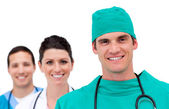 Portrait of a talented medical team — Stock Photo