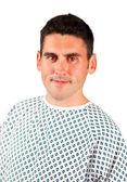Portrait of a patient smiling — Stock Photo