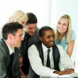 International business team working in office — Stock Photo #10301062