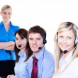 Group of operators — Stock Photo #10302158
