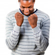 Young man with fists Clenched — Stock Photo #10302199