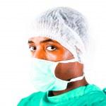 Headshot of a surgeon — Stock Photo