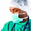 Headshot of a surgeon — Stock Photo