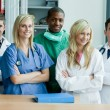 Stock Photo: Portrait of medical staff