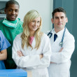 Portrait of a medical team — Stock Photo