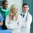 Portrait of medical team — Foto Stock #10303174