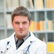 Young doctor at work — Stock Photo