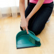 Close-up of a woman doing housework — Stock Photo #10306248