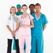 Confident team of doctors looking at the camera — Stock Photo #10307920