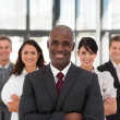Business team in an office — Stock Photo #10308022