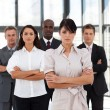 Business team in an office — Stock Photo #10308055