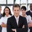 Business team in an office — Stock Photo #10308085