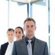 Manager leading business team — Stock Photo #10308212