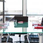 Empty Corporate Meeting Room — Stock Photo