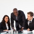 Businessteam discussing a new plan — Stock Photo #10308554