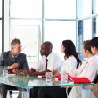 Business interacting in meeting — Stock Photo #10308664