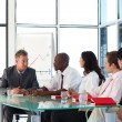 Business team interacting in meeting — Stock Photo #10308670